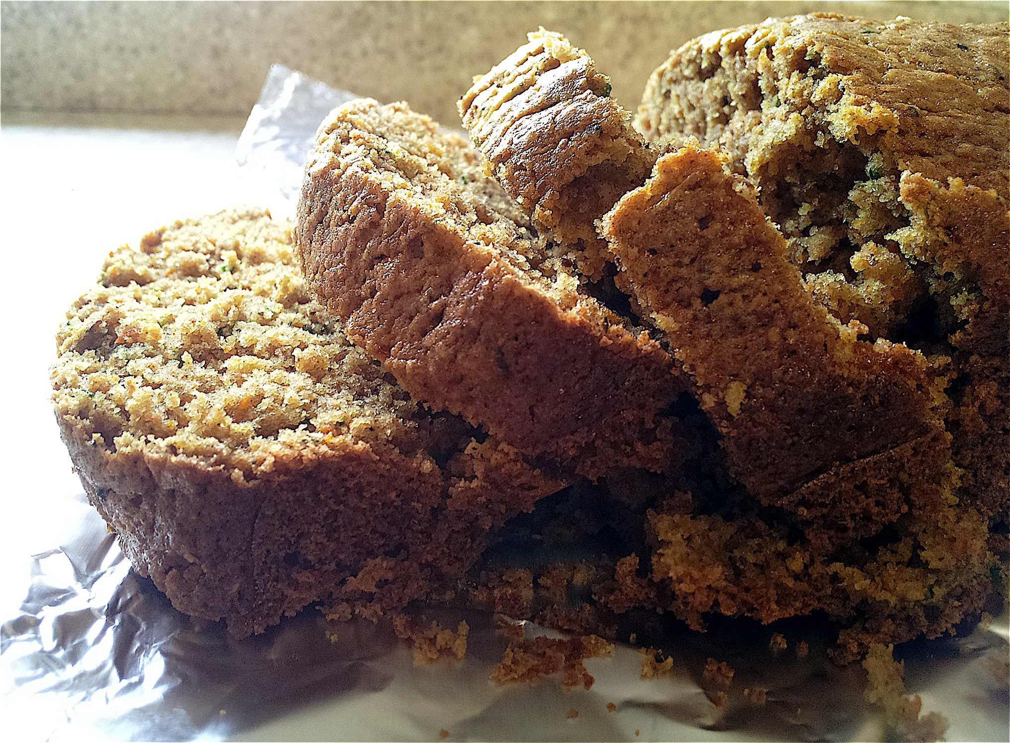 Whole-Wheat Carrot Zucchini Breakfast Bread